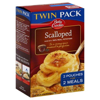 Potatoes, Scalloped, Twin Pack