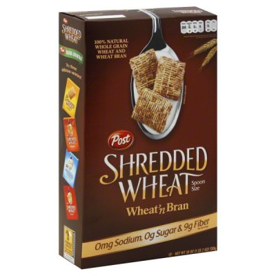 Shredded Wheat, 100% Whole Wheat Cereal