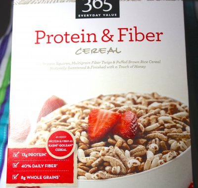 Cereal, Protein & High Fiber