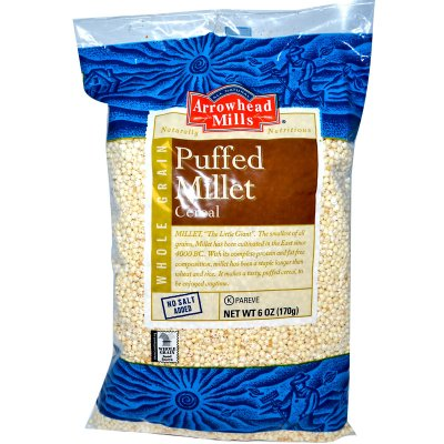 Cereal, Puffed Millet