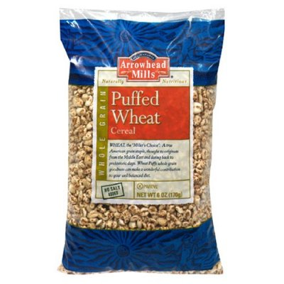 Cereal, Puffed Wheat