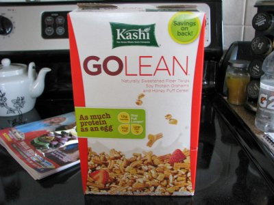Go Lean, Soy Protein Grahams And Honey Puff Cereal