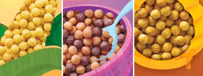 Kix, With Whole Grain Crispy Corn Puffs