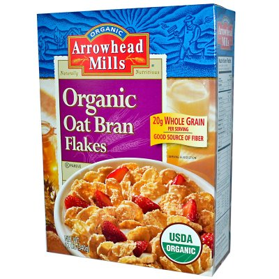 Organic Bran Flakes Cereal
