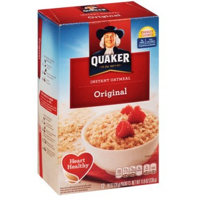 Original Flavor Instant Oatmeal Rolled Oats