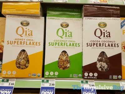 Qi'a Superfood, Honey Chia Superflakes