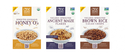 Veganic Sprouted Ancient Grain Flakes, Cereal