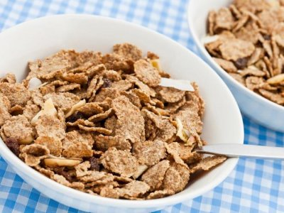 Cereal, Whole Grain, Bran Flakes