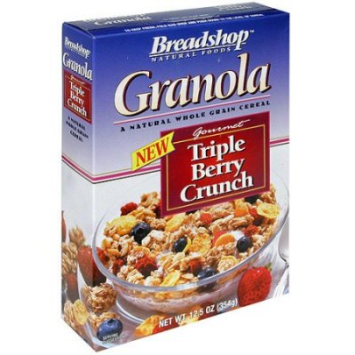 Granola, All Natural Whole Grain, Triple Berry Crunch