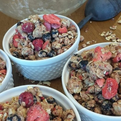 Granola, Triple Berry