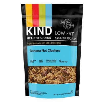 Healthy Grains, Banana Nut Clusters