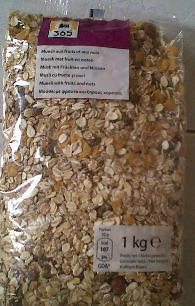 Mueslil, Made With Whole Grain Oats, Seeds, Fruits And Nuts