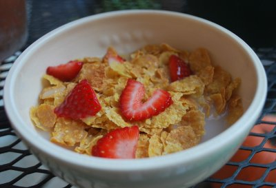 Organic Sprouted Corn Flakes