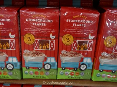 Organic Stoneground Flakes Cereal