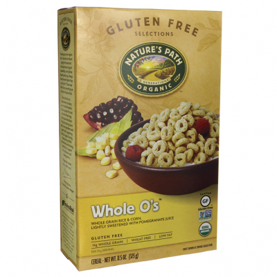 Organic Whole O's Rice & Corn Cereal