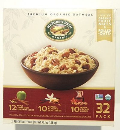 Premium Organic Oatmeal, Organic Fruit Nuts And Rolled Oats