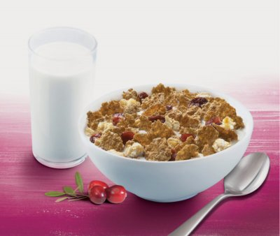 Wheat Bran Enriched High Fiber Flakes Cereal