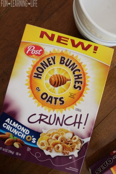 Honey Bunches Of Oats, Whole Grain, Almond Crunch
