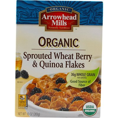 Organic Sprouted Wheat Berry & Quinoa Flakes