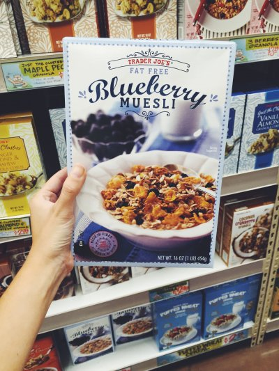 Fat Free Blueberry Muesli