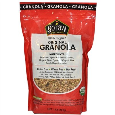Original Granola, Slightly Sweet, Made With Organic Oats