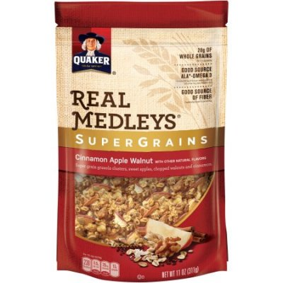 Real Medleys Super Grains, Cinnamon Apple Walnut