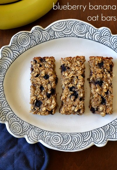 Simply Granola, with Blueberries and Bananas, Organic Oats