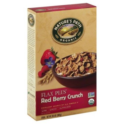 Cereal, Flax Plus, Red Berry Crunch