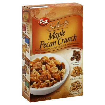 Cereal, Maple Pecan