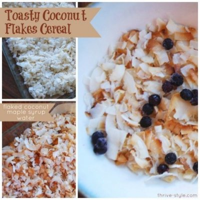 Coconut Flakes, Cereal