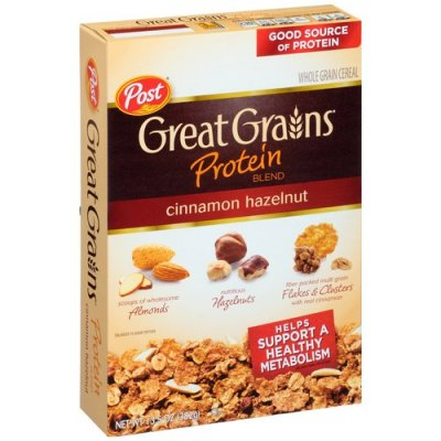 Great Grains Protein Blend Cinnamon Hazelnut