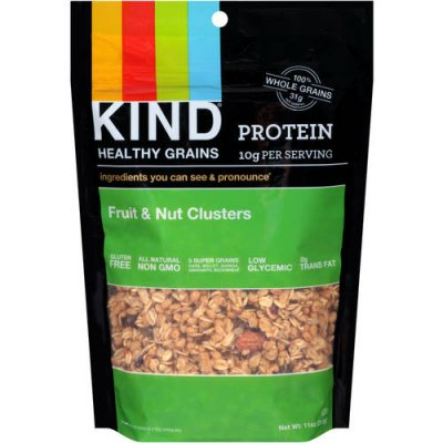 Healthy Grains, Fruit & Nut Clusters
