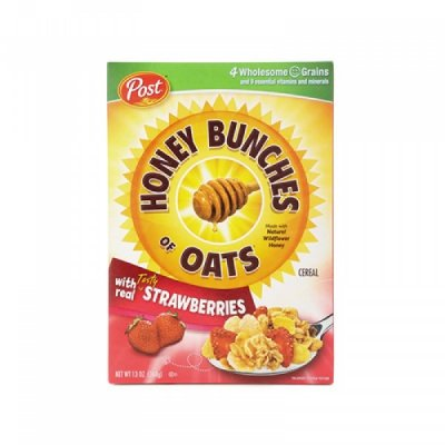 Honey Bunches Of Oats With Real Strawberries, Cereal