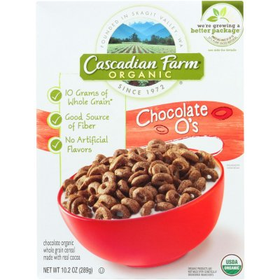 Organic Chocolate O's Cereal