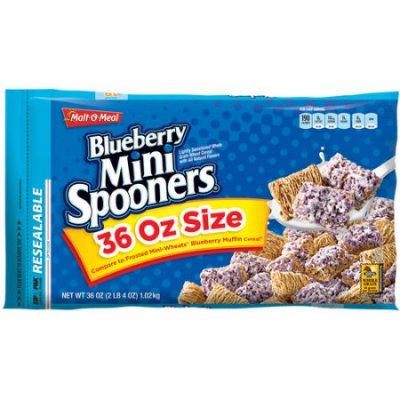 Blueberry Mini Spooners Cereal
