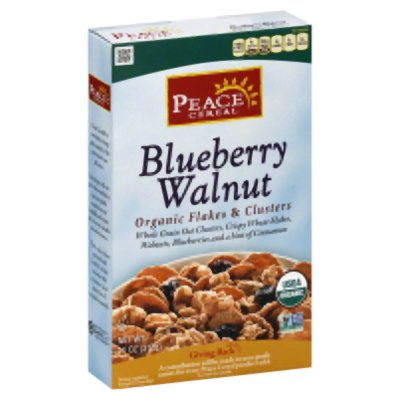 Blueberry Walnut, Organic Flakes & Clusters Cereal
