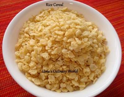 Cereal, Crispy Rice