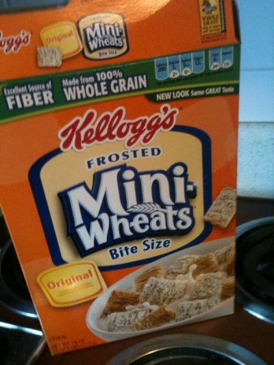 Cereal, Frosted Shredded Wheat, Bite Size