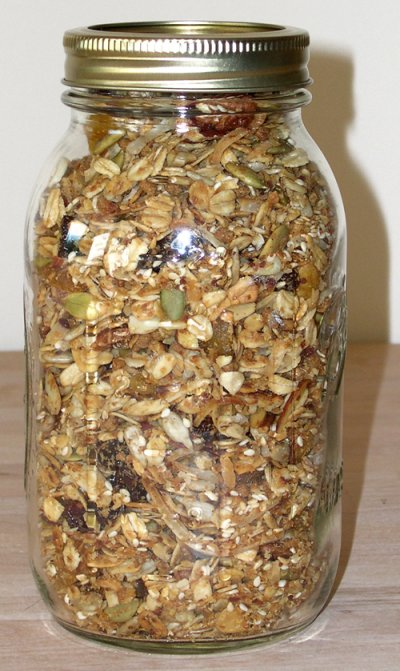Granola Original Cereal, Pecans, almonds And Honey