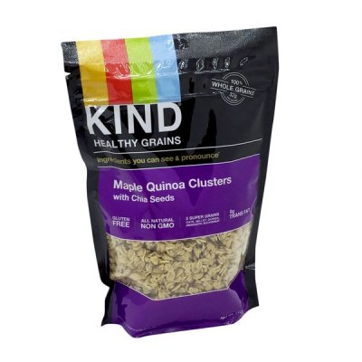 Maple Quinoa Clusters With Chia Seeds