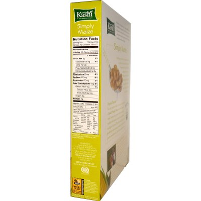 Organic Simply Maize Crispy Whole Corn Flakes Cereal