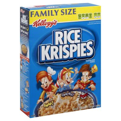 Rice Krispies, Cereal, Toasted Rice, Family Size
