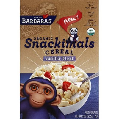 Snackimals Cereal, Vanilla Blast