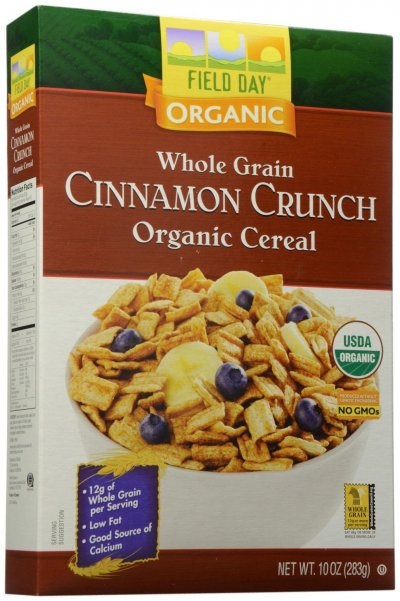 Cereal,Organic Wheat Squares