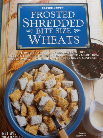 Frosted Shredded Bite Size Wheats