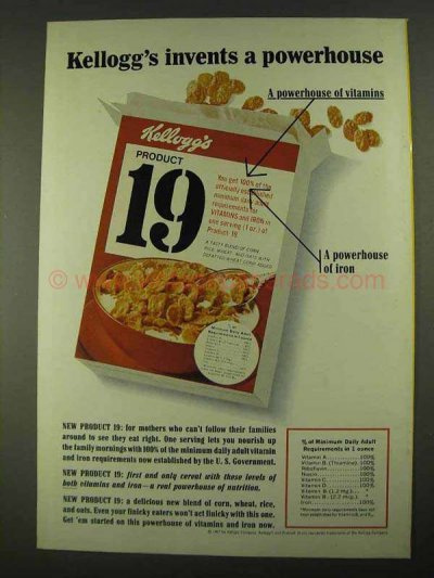 Product 19 Cereal