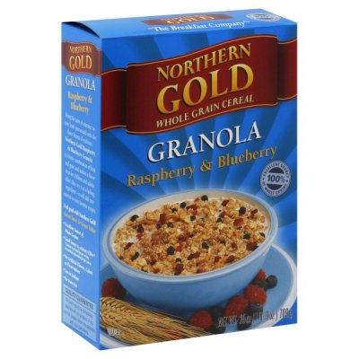 Raspberry & Blueberry Granola Whole Grain Cereal