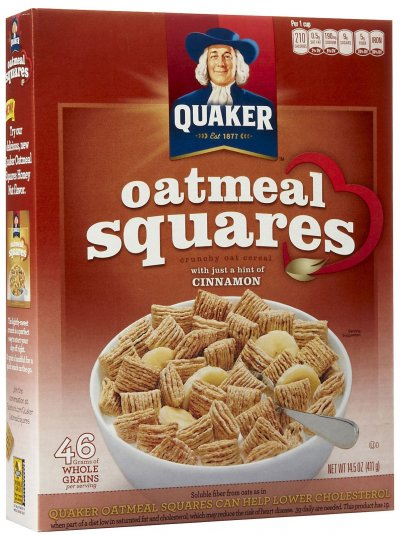 Cereal, Oatmeal Squares, Cinnamon