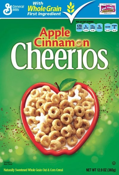 Cheeriosl, Apple Cinnamon