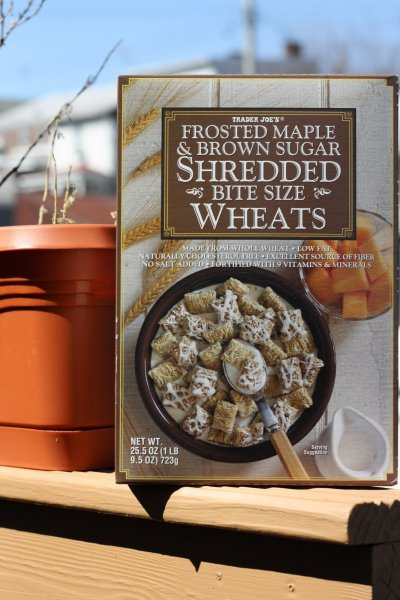 Frosted Maple & Brown Sugar Shredded Bite Sized Wheats
